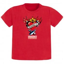 Camiseta bunbury manga corta Corazón