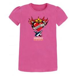 Camiseta de bunbury chica manga corta Corazón