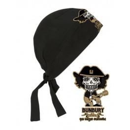 Pañuelo pirata Calavera Bunbury