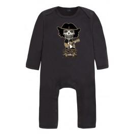 Pijama bebé calavera Bunbury