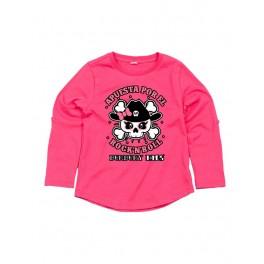 Camiseta de manga larga niña ROCK GIRL