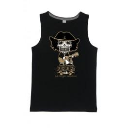 Camiseta de tirante Calavera