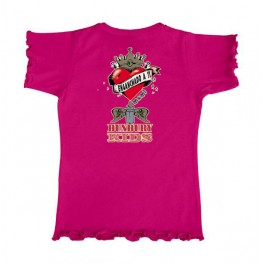Camiseta de bunbury niña manga corta MAMI