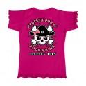 Camiseta de bunbury niña manga corta ROCK GIRL