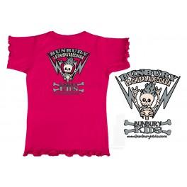 Camiseta de bunbury niña manga corta CHISPA