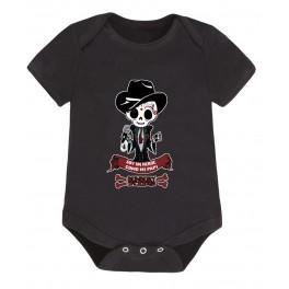 Body bebé manga corta héroe