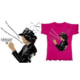 Camiseta de bunbury niña manga corta Expectativas
