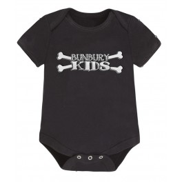 Body bebé manga corta logo Bunbury