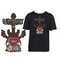 Camiseta de bunbury manga corta Juego de villanos