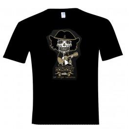Camiseta manga corta unisex calavera