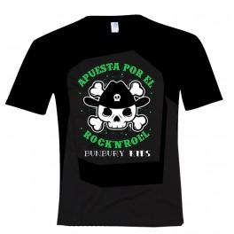 Camiseta manga corta unisex apuesta por el rock&roll