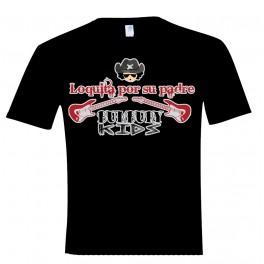 Camiseta manga corta unisex Loquita por su padre