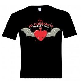 """Camiseta bunbury manga corta """"mi constante"""""""