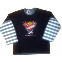 Camiseta Bunbury m/larga rayas Corazón